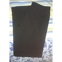 Pantalon De Vestir De Dama Talla 15-16 Color Negro