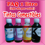 Tintas Comestibles Paq 1 Litro 250ml Por Color Cmyk<br><strong class='ch-price reputation-tooltip-price'>$ 1,400<sup>00</sup></strong>