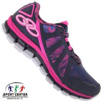 Tenis Olympikus Diffuse Colors Feminino - Corrida - Original