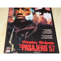 Dvd Pasajero 57 Acción Wesley Snipes Impecable