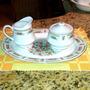 Vajilla De Ceramica China Decorada, 8 Puestos, 43 Piezas