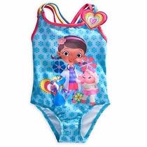 Vestido De Baño Doctora Juguetes Disney Store Talla 2