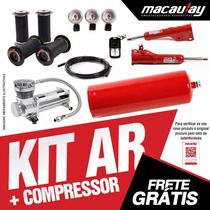 Vw Gol G4 - Suspensão Ar 8mm Com Compressor Macaulay Oficial