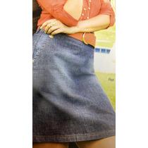 Saia Jeans Black Friday Moda Evangélica Laura Rosa 40/42