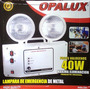 Luz De Emergencia Halogena Marca Opalux Modelo 9404-220