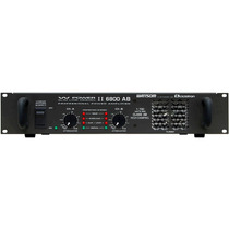Amplificador Potência 1700w Ciclotron W Power Ii 6800 Ab