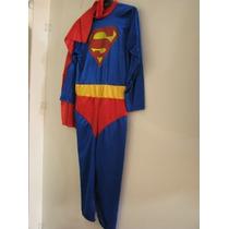 Disfraz Superman Para Adulto Halloween Fiesta Cumpleaños