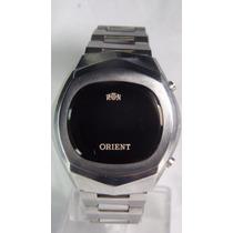 Orient Touchtron L E D De 1975 Novo Garantia Relogiodovovô.