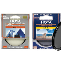 Kit Filtro Polarizador Cpl + Uv 67mm Hoya Lentes Canon Nikon