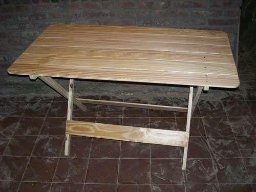 Como hacer una mesa rebatible ambiente mesa plegable for Como disenar una mesa