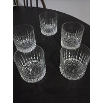 Vasos De Whisky Cristal Tallado