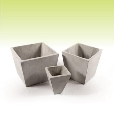 piramidal 50 x 40 - macetas de fibrocemento - cemento ref. - $ 332