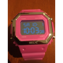 Reloj Relic Digital Dama Rosa Envío Gratis #172