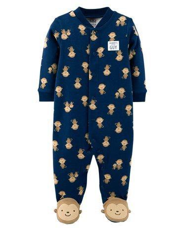Ultimos Pijama Con Pies Algodon Carters Manga Larga Invierno -   399 ... 83de6574dfe0