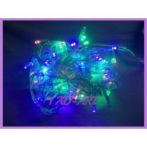 Led Luces Navideñas Blancas, Azules, Rojas Y Multicolor!! 9m
