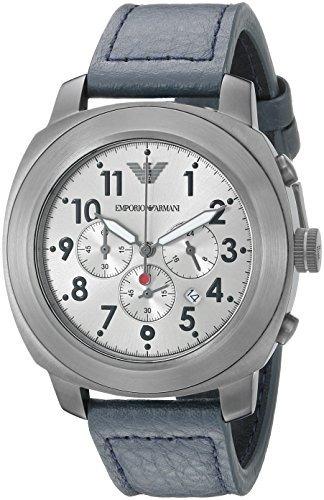 3398c194f8b Reloj De Cuero Emporio Armani Ar6086 Sport Azul Para Hombre -   7