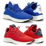 Azul bic/vermelho