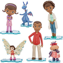 Set Figuras Disney De La Doctora Juguetes