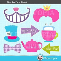 Kit Imprimible Alicia El Pais De Las Maravillas 2 Imagenes