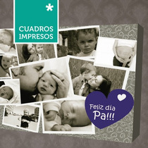 Día De La Madre - Collage Cuadro Impreso En Lienzo