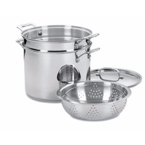 Bateria Cocina Cuisinart 77-412 Chefs Classic Stainless 4 Pi