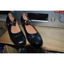 Zapatos Para Danza Flamenca Y/o Cueca - Folclor