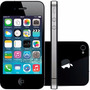 Baixou! Apple Iphone 4s 64gb Preto Completo Brinde Seminovo