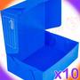 Cajas Archivo Plastico Oficio Reforzada Pack 10u 1ra Marca