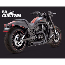 Escapamento Vance&hines Competition 2x1 V-rod/harley/75113-9