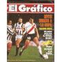 El Gráfico 3489 - Beto Alonso River 4 Wanderers 2 Libertador