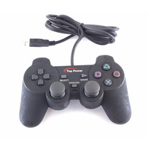 Controle Top Power Usb P Pc Ou Ps2 Pii-2150 Video Game A7788
