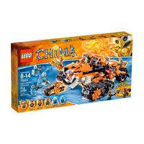 Lego Chima Mod 70224 Control Movil Del Tigre 712 Pzas Nuevo
