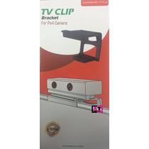 Suporte Clip Tv Ps Eye Ps4 Playstation 4 Câmera Ajustável