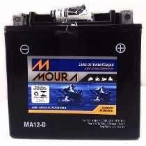 Bateria Moura Moto - 12v E 12ah - Ma12-d Iron, Custom Forty