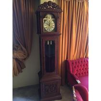 Relógio Antigo Tempus Fugit Anos 40 Carrilhão Esculpido Mao