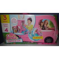 Barbie Camper De Lujo 3 Pisos Cupo Para 4 Tobogan