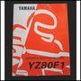 Yamaha Yz80f1 1993 Manual De Servicio