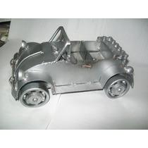Gcg Auto Volkswagen Carro Coche De Metal Reciclado Artesanal