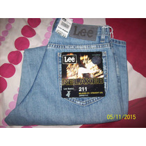 Pantalon(jeans) Lee Original De Caballero, 30x32.