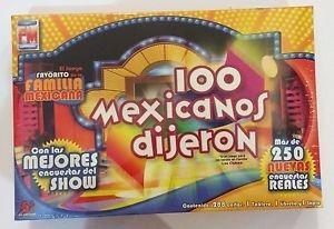 Juego De Mesa 100 Mexicanos Dijeron 681 00 En Mercado Libre