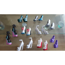 Monster High Zapatos Muñecas Precio X C/ Par