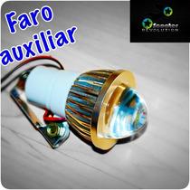 Faro Auxiliar Economico Moto Motoneta Universal 5watts Led