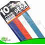 Papel De Seda Colores Variados Paquete De 10 Pliegos