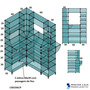 Balcão De Vidro Modulado Caixa Cx019acp 1.2x0,90mts C Preto