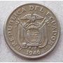 Moneda 1946 Ecuador Nice Grade 10 Centavos Escasa
