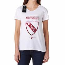 Remera Club Atlético Independiente Para Mujer