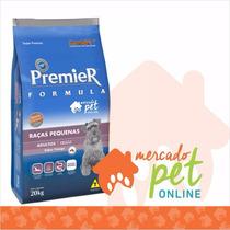 Ração Premier Formula Cães Adultos Raças Pequenas 20 Kgs