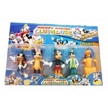 Set De Muñecos Casa De Mickey Mouse Clubhouse, Juguete Niños