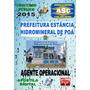 Apostila Concurso Prefeitura Poa Sp. Agente Operacional