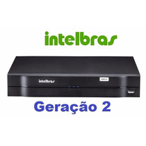 Kit Intelbras 2 Dvrs 16 Canais 1016 + 20 Câmeras Vhd 3130b